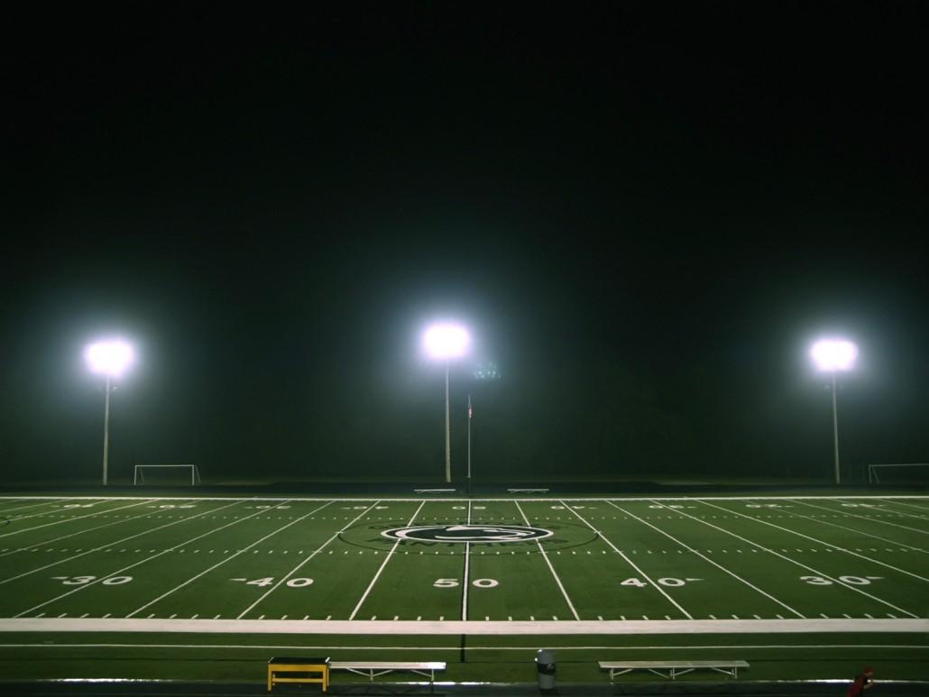 Energieeffiziente Sportbeleuchtung