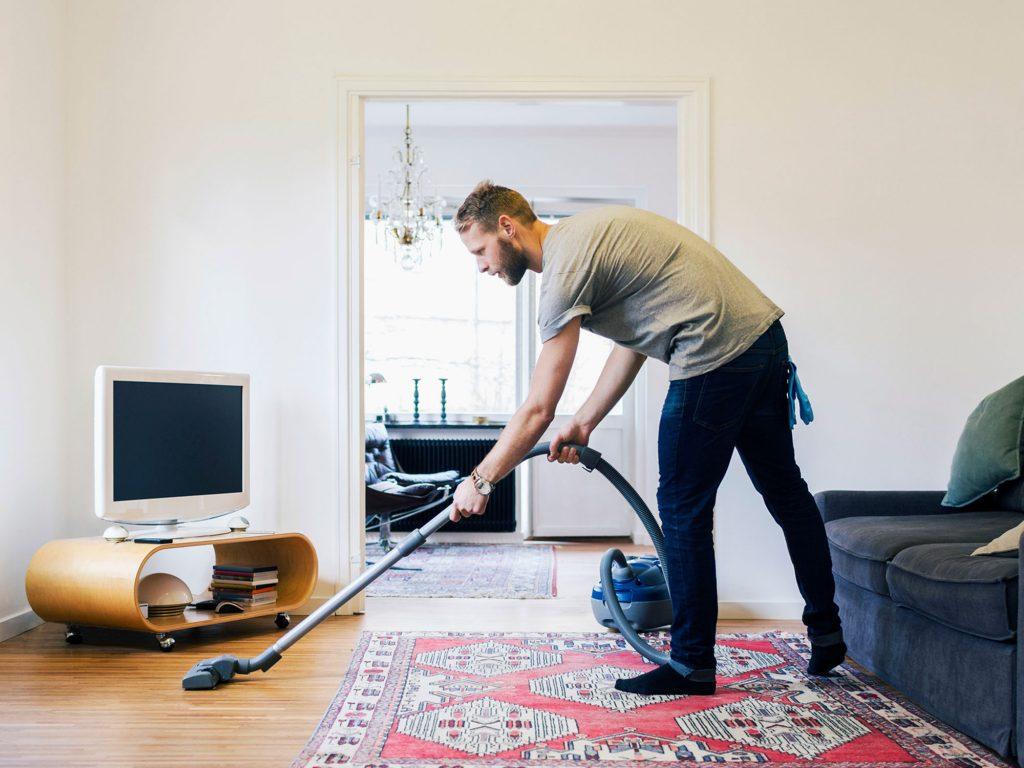 Staubsauger erleichtert die Reinigung